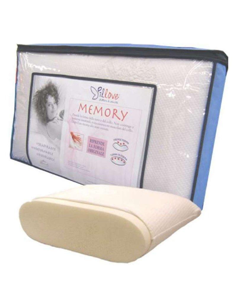 Pillove Cuscini.Guanciale 45x75 In Memory Foam Pillove Lenpur