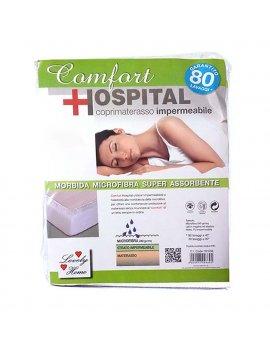 Coprimaterasso 180X200 Impermeabile Con Angoli Matrimoniale Comfort Hospital