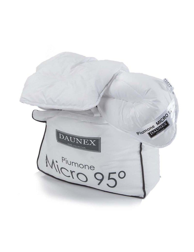 Piumino 250X200 Micro 95° 4 Stagioni DUO DAUNEX Anallergico Matrimoniale