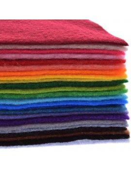 Tessuto Feltro Lana 50x158 Mono Tweed