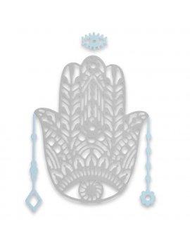 Fustella Thinlits Mano di Fatima Khamsa SIZZIX 663367