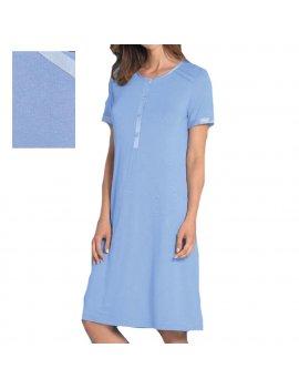 Camicia Da Notte Donna Serafino Mezza Manica LINCLALOR 02287