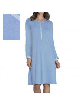 Camicia Da Notte Serafino Manica Lunga LINCLALOR 02285