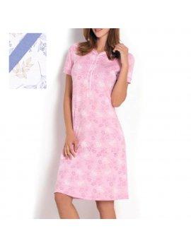 Camicia Da Notte Donna Serafino Mezza Manica LINCLALOR 02301