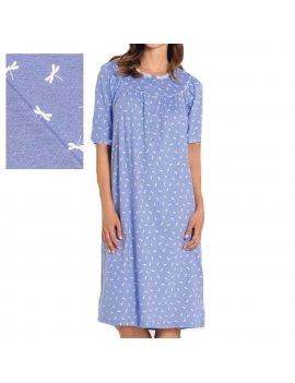 Camicia Da Notte Donna Serafino Mezza Manica Raglan LINCLALOR 73593