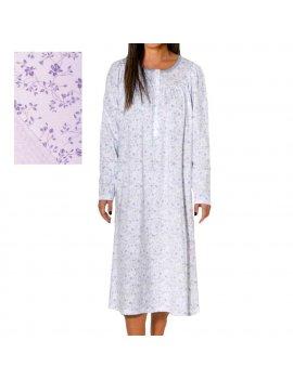 Camicia Da Notte Donna Serafino Manica Lunga Raglan LINCLALOR 73887