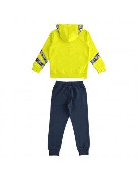 Tuta Bambino Full Zip Con Cappuccio iDO 4J47600