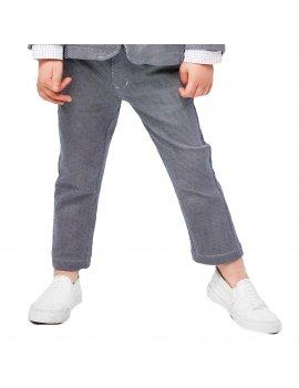 Pantalone Bambino In Felpa Di Cotone Stretch Modello Chino iDO 4J24000