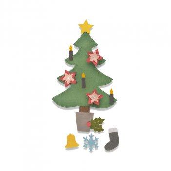 Fustella Bigz Plus Albero Di Natale 2 SIZZIX 662969