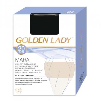 Collant Donna GOLDEN LADY 20 Den Mara Extra Large