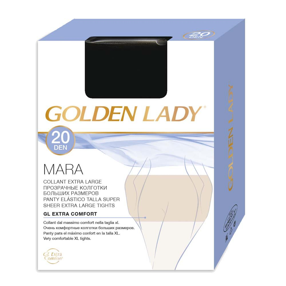 Collant Donna GOLDEN LADY 20 Den Mara Extra Large