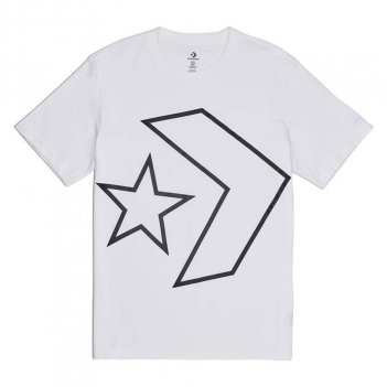 T-Shirt Uomo CONVERSE 10008448 MM TILTED STAR CHEVR