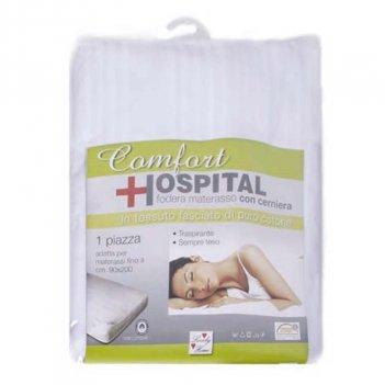 Coprimaterasso Comfort Fasciato Con ZIP