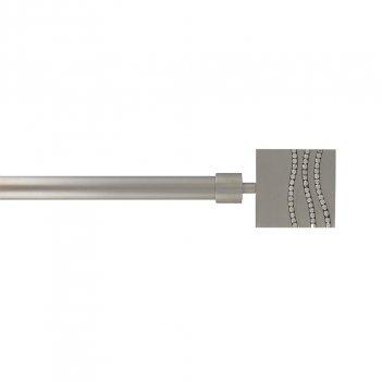 Kit Bastone Estendibile 210-380 Terminale Strass LUANCE Diametro 19mm