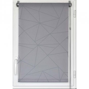 Tenda A Rullo 90X180 Semi Filtrante Decorata GEO LUANCE 350990180