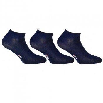 3 Paia Calzini Unisex Sneaker Invisibili FILA F1709