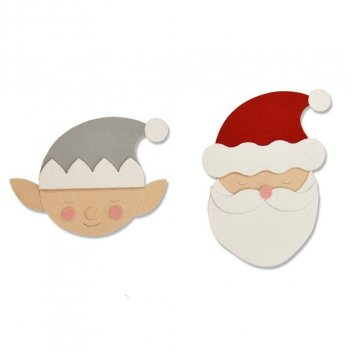 Fustella Bigz Babbo Natale & Elfo SIZZIX 663378