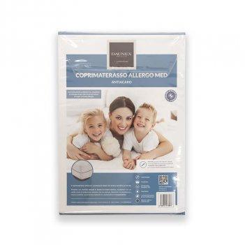 Coprimaterasso Impermeabile Con Zip 125X195 DAUNEX Allergo Med