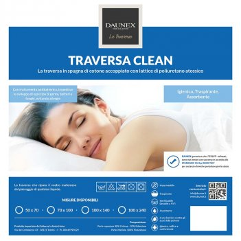 Traversa Coprimaterasso 100X240 DAUNEX Clean Cerato