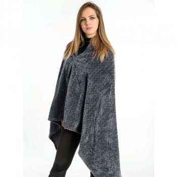 Poncho Giuly Flannel