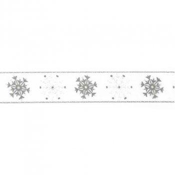 Nastro Fiocchi Di Neve Altezza 25mm 208A