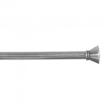 Set Bastone Per Tende 120-210cm Allungabile Con Terminali Tula