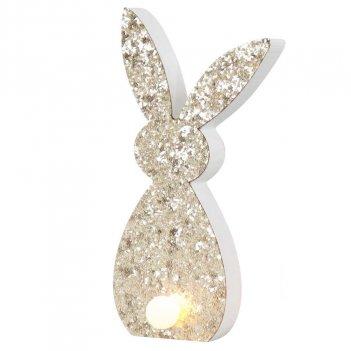 Coniglio Luminoso Joy 18x7x2cm HOFF-INTERIEUR 3672 Pasqua