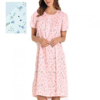 Camicia Da Notte Donna Over Serafino Mezza Manica Raglan LINCLALOR 73895