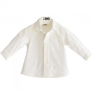 Camicia Neonato Classica In Popeline A Manica Lunga iDO4J07100