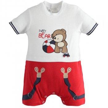 Completo Pagliaccetto Neonato Sweet Bear iDO 4J08500