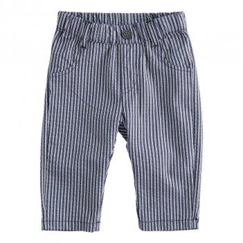 Pantalone Neonato Elegante In Cotone Rigato iDO 4J10100
