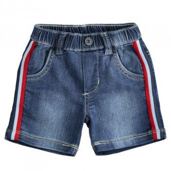 Pantalone Neonato Corto In Denim Maglia Morbidissimo iDO 4J61000