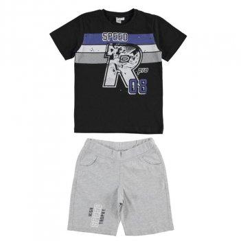Completo Bambino T-Shirt e Pantalone Corto iDO 4J01800