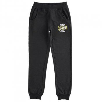 Pantalone Bambino In Felpa Leggera Tema Race 100% Cotone iDO 4J01500