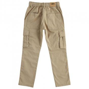 Pantalone Bambino Lungo Modello Cargo iDO 4J42400
