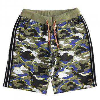 Bermuda Bambino Fantasia Camouflage Effetto Rete iDo 4J84600