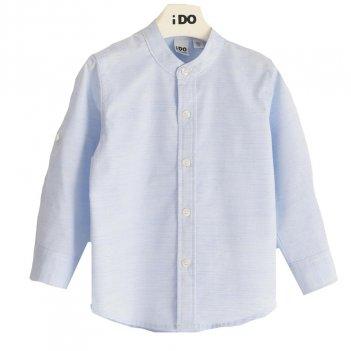 Camicia Bambino Manica Lunga Stretch Fil a Fil iDO 4J20800
