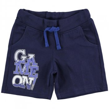 Pantalone Corto Bambino In Jersey 100% Cotone iDO 4J02500