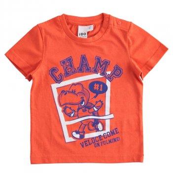T-Shirt Bambino Mezza Manica 100% cotone iDO 4J02400