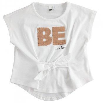 T-shirt Bambina con lunghezze asimmetriche iDO 4J49500