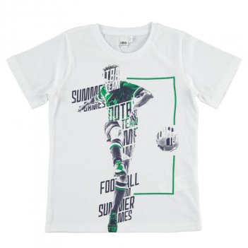 T-Shirt Bambino 100% cotone iDO 4J01600