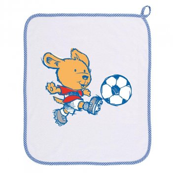 Asciugamano Orso Calcio SIGGI HAPPY SCHOOL 34AS0152/00-9006