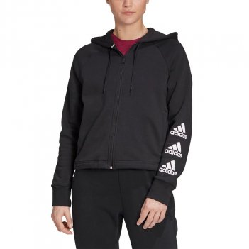 Felpa con cappuccio Stacked Logo Full-Zip Fleece ADIDAS GC6919