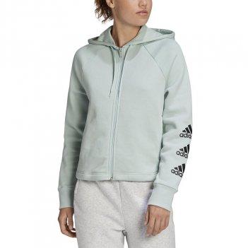 Felpa con cappuccio Stacked Logo Full-Zip Fleece ADIDAS GC6935