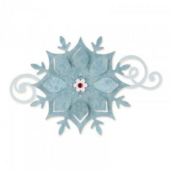 Fustella Bigz Fiocco di Neve SIZZIX 658740