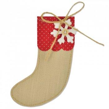 Fustella Bigz Calza di Natale SIZZIX 661297