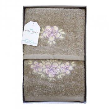 Set Asciugamani Bagno Viso + Ospite Bouquet