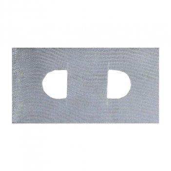 Riloga Arricciatende mm100 Trasparente Senza Tasche