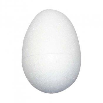 Uovo 8X5,5cm Di Polistirolo Bianco