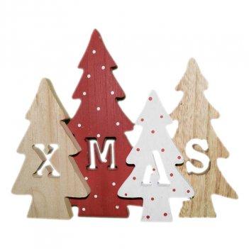 Decorazione In Legno Alberi Di Natale